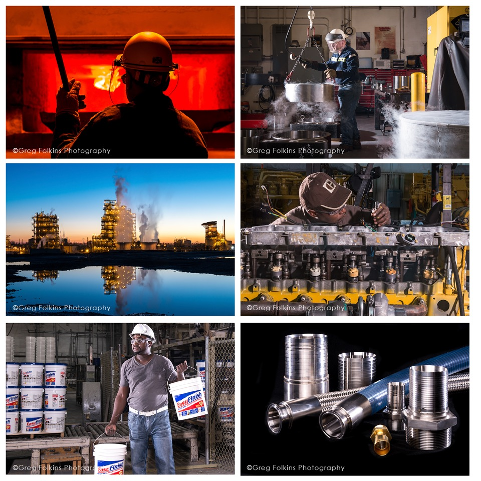Industrial and Manufacturing Photographer in Jacksonville FL